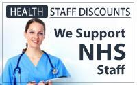 nhs staff discount blue squirrel