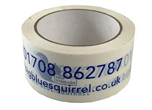parcel tape big blue squirrel