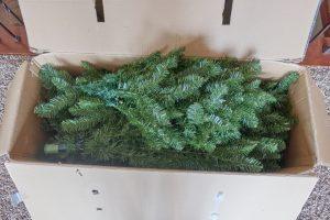xmas tree in box